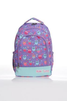KIDS&LOVE L5027 Owl Kız Çocuk Ilkokul Sırt Çantası 1