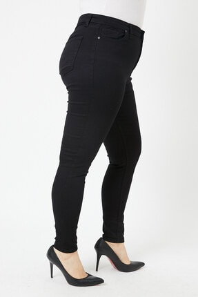 VAV Büyük Beden Dar Paça Kot Pantolon 2