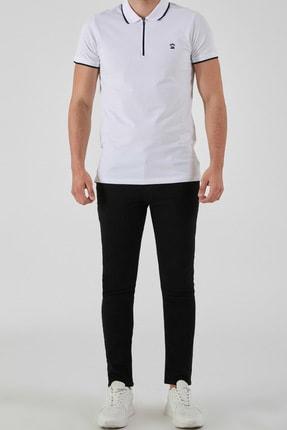 Ltb Erkek  Beyaz Polo Yaka T-Shirt 0122084075609440000 2