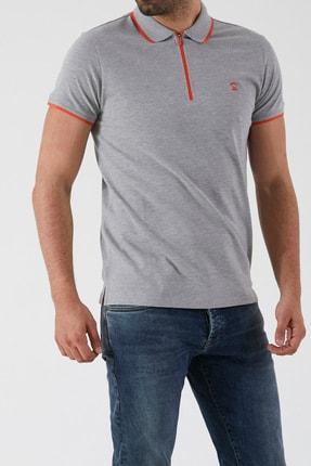 Ltb Erkek  Gri Polo Yaka T-Shirt 0122084075609440000 4