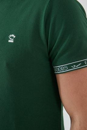 Ltb Erkek  Yeşil Polo Yaka T-Shirt 012208408060890000 1