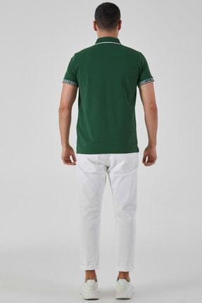 Ltb Erkek  Yeşil Polo Yaka T-Shirt 012208408060890000 3