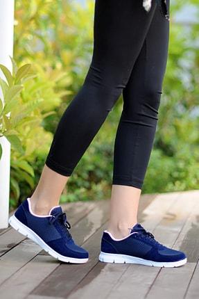 Pembe Potin Kadın Lacivert Ayakkabı 0