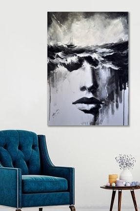 Hediyeler Kapında 50x70 Dekoratif Sanatsal Duvar Kanvas Tablo 0