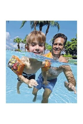 HOT WHEELS Lisanslı Deniz Ve Havuz Çocuk Can Simidi Ve Kolluk Yüzme Seti 4