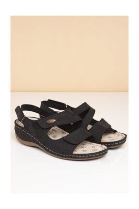 Pierre Cardin Pc-2610 Siyah Kadın Sandalet 3