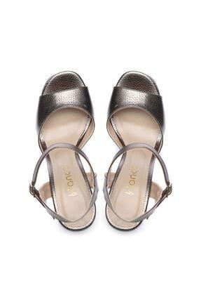 Kemal Tanca Kadın Derı Topuklu Ayakkabı 539 3104 BN AYK 3