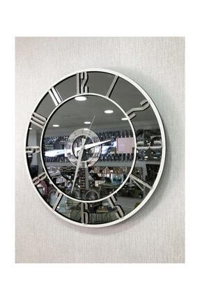Pupilla Duvar Saati Aynalı 50 Cm Çap 3