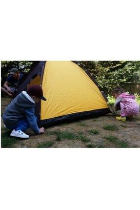 Papakudi 20 Saniyede Kurulum Otomatik Kamp Çadırı Tatil Plaj Deprem 3 Kişilik 1