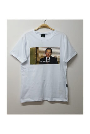Köstebek The Office - Michael Scott I Am Dead Inside T-shirt 0