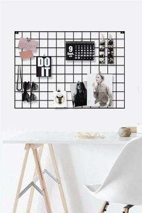 Vip Home Concept Fotoğraf Askısı Tel Askılık Metal Pano Duvar Askılığı Notluk 50 cm x 70 cm 0