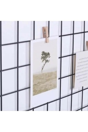 Vip Home Concept Fotoğraf Askısı Tel Askılık Metal Pano Duvar Askılığı Notluk 50 cm x 70 cm 1