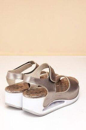 Pierre Cardin Pc-1406 Platin Kadın Sandalet 3