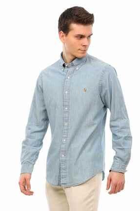 Ralph Lauren Slim Fit Denim Gömlek 1