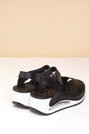Pierre Cardin PC-1406 Siyah Kadın Sandalet 3