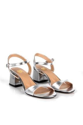 Gökhan Talay Gümüş Rengi Kadın Klasik Topuklu Ayakkabı 1