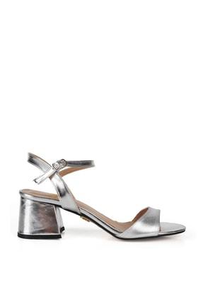 Gökhan Talay Gümüş Rengi Kadın Klasik Topuklu Ayakkabı 2