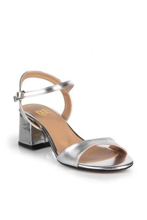 Gökhan Talay Gümüş Rengi Kadın Klasik Topuklu Ayakkabı 3