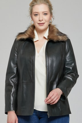 Derimod Samantha-x Kadın Deri Ceket 0