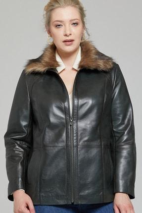 Derimod Samantha-x Kadın Deri Ceket 3