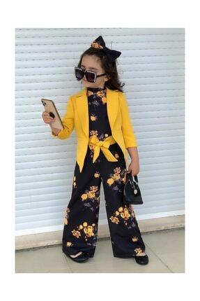 Riccotarz Çocuk Sarı Ceketli Tulum 1