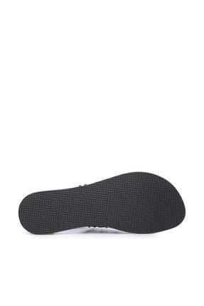Kemal Tanca Hakiki Deri Siyah Kadın Sandalet Sandalet 649 145 BN SND 4