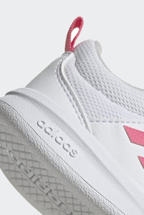 adidas TENSAUR Beyaz Kız Çocuk Sneaker Ayakkabı 100481660 2
