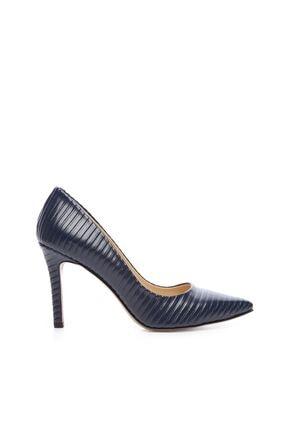 Kemal Tanca Kadın Derı Stiletto Ayakkabı 22 5205 BN AYK 0