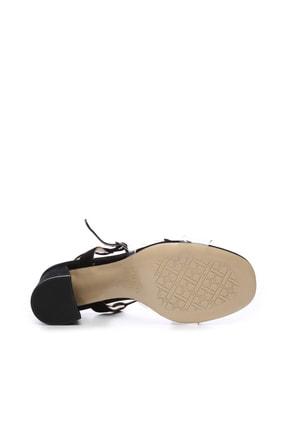 Kemal Tanca Hakiki Deri Siyah Kadın Ayakkabı 94 3134 BN AYK Y19 3