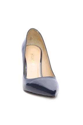 Kemal Tanca Lacivert Kadın Vegan Stiletto Ayakkabı 723 5064 BN AYK Y19 1