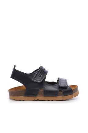 Kemal Tanca Erkek Çocuk Siyah Hakiki Deri Sandalet Ayakkabı 719 300 CCK 22-30 Y19 0