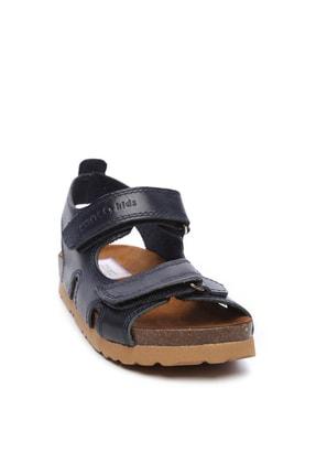 Kemal Tanca Erkek Çocuk Siyah Hakiki Deri Sandalet Ayakkabı 719 300 CCK 22-30 Y19 1