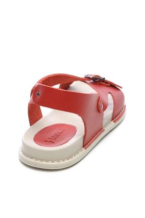 Kemal Tanca Hakiki Deri Kırmızı Kadın Sandalet Sandalet 539 1309 BN SNDLT Y20 2