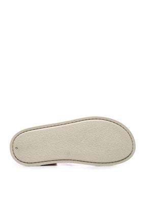 Kemal Tanca Hakiki Deri Kırmızı Kadın Sandalet Sandalet 539 1309 BN SNDLT Y20 4