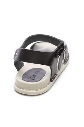 Kemal Tanca Hakiki Deri Siyah Kadın Sandalet Sandalet 539 1301 BN SNDLT Y20 2