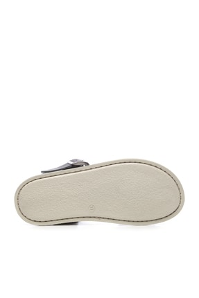 Kemal Tanca Hakiki Deri Siyah Kadın Sandalet Sandalet 539 1301 BN SNDLT Y20 4