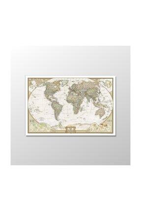 Atlantis Tablo Dünya Haritası - 60x40 0