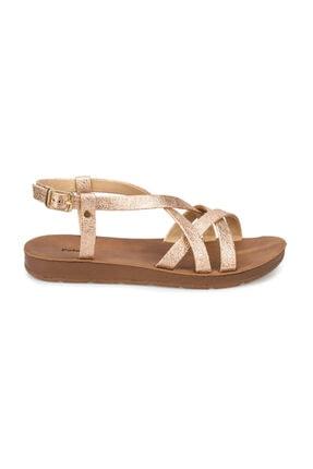 Polaris Altın Rengi Kadın Sandalet 000000000100375886 1