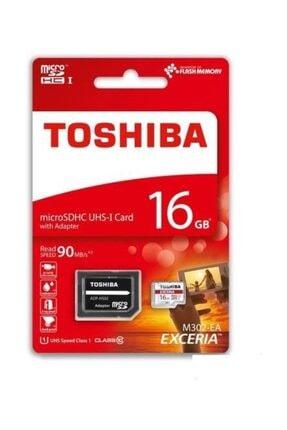 Toshiba 16GB Micro SD Hafıza Kartı C10 U1 90MB/s M302-EA 0