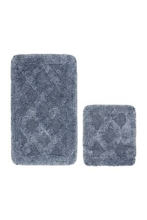 Alanur Home Alanur Labirent Bukle & Cotton 2 Li Paspas Eskitme Mavi 3