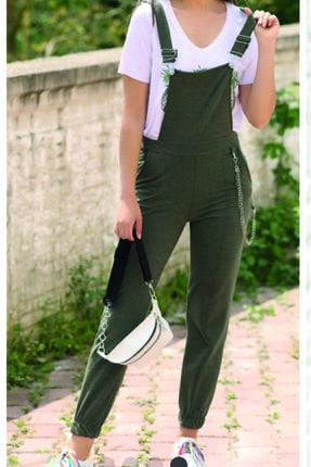 Kavshak Kadın Salopet Pantolon 0