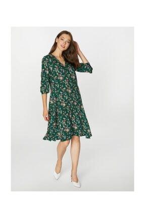 Faik Sönmez Kadın Desenli Elbise 39243 0