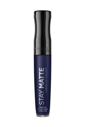 Rimmel London Ruj - Stay Matte Liquid Lipstick 830 Blue Iris 3614224429386 0