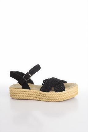 Soho Exclusive Siyah Kadın Sandalet 14952 4