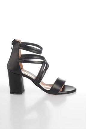 Soho Exclusive Sıyah Kadın Klasik Topuklu Ayakkabı 14670 4