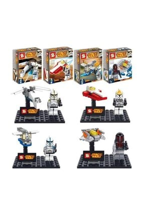 GÇM Sy212 Star Wars Lego Seti 4 Paket Bir Arada 0