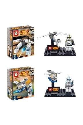 GÇM Sy212 Star Wars Lego Seti 4 Paket Bir Arada 3