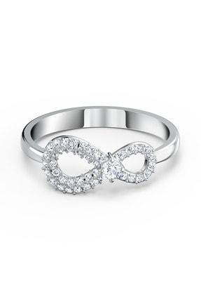Swarovski Kadın Yüzük Swa Infinity-ring Cry-czwh-rhs 58 5535401 0
