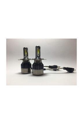 Led Garage Black Edition H4 Led Xenon 8400 Lümen 6500k Beyaz Şimşek Etkili 0