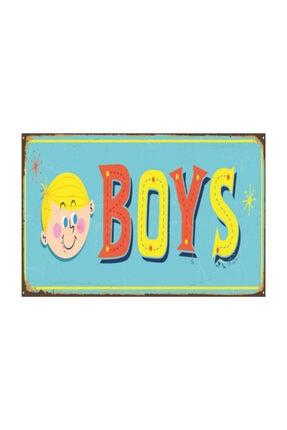Hayat Poster Erkek Çocuk Odası Kapı Panosu Retro Vintage Ahşap Poster 0